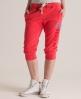 Superdry Training Capri Pant Red