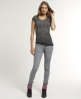 Superdry Rosefill Skinny Jeans Grey