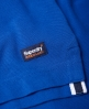 Superdry Classic Upstate Pique Polo Shirt Blue