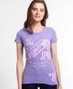 Superdry Keep It T-shirt Purple