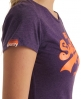 Superdry Vintage Entry T-shirt Purple
