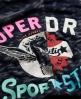 Superdry Trophy Burnout Vest Navy