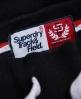 Superdry Pantalones cortos Track & Field Negro