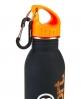 Superdry Steel Sports Bottle Black