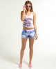 Superdry Beach Hotpants Blue