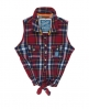 Superdry Twill Trailer Tie Shirt Red