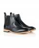 Superdry Meteora Chelsea Leather Boots Black