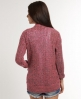 Superdry Cross Hatch Cardi Pink