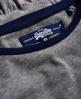 Superdry Skater Baseball-Kleid Grau