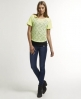 Superdry Hyper Lace T-shirt Yellow