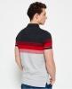 Superdry Longbeach Polo Shirt  Light Grey