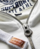 Superdry Triathlon Zip Hoodie Cream