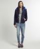 Superdry Fuji Hooded Jacket Blue