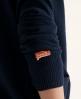 Superdry Orange Label Cardigan Navy