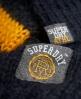 Superdry Madison Varsity Strickpulli  Marineblau