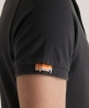 Superdry Classic Pique Polo Black
