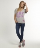 Superdry High Dry Slouch T-Shirt Grey