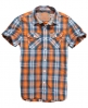 Superdry Washbasket Check Shirt Orange