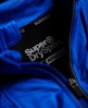 Superdry Sports Athletic饰片拉链开衫卫衣 蓝色