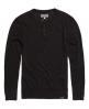 Superdry Orange Label Knit Grandad Dark Grey