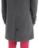 Superdry Classic Duffle Coat Dark Grey