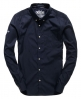 Superdry Premium Button Down Shirt Navy