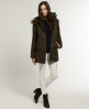 Superdry Hooded Super Windcheater Coat Green