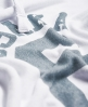 Superdry Osaka Sport Cropped Marl Hoodie White