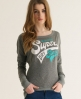 Superdry Supersonics T-shirt Light Grey