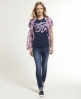 Superdry Brush It Real T-shirt Navy