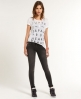 Superdry Low-Rise Super Skinny Jeans Dark Grey