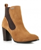 Superdry Fleur Leather Chelsea Boots  Brown