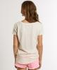 Superdry Oversize Pocket T-shirt Cream