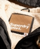 Superdry Sports Toggle Puffer Black