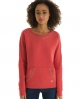 Superdry Luxe Sorority Crew Red