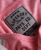 Superdry Slouch Baseball Crew Pink