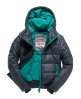 Superdry Polar Puffer Jacket Dark Grey