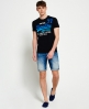 Superdry Camiseta Shirt Shop 77 Negro