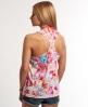 Superdry Happy Floral Vest Top Pink
