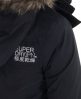 Superdry Hooded Super Windcheater Black