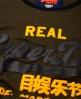 Superdry Vintage Logo T-Shirt mit Raglanärmeln Grün