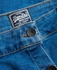 Superdry A-Line Denim Mini Skirt  Blue