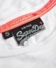Superdry Osaka Burn Out T-Shirt Weiß