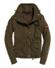 Superdry Rookie Field Crop Parka Jacket  Green