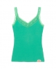 Superdry Lace Rib Vest Top Green