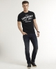 Superdry Corporal Slim Jeans Dark Blue