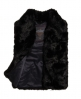 Superdry Luxe Fur Gilet Black