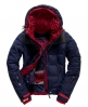 Superdry Box Polar Element Hooded Ski Jacket Navy