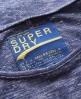 Superdry Italic Top Navy