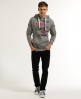 Superdry Super Champs Hoodie Grey